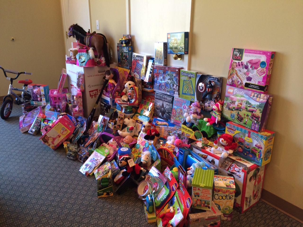 Toys For Tots 2013 : Lnr offices are collection sites for toys tots